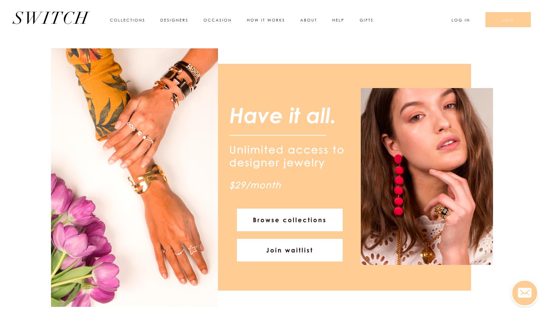 membership website ui/ux design