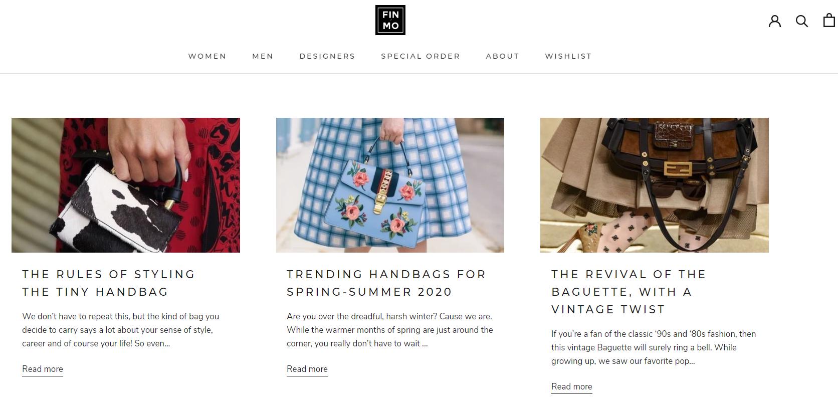 designer handbag editorial blog