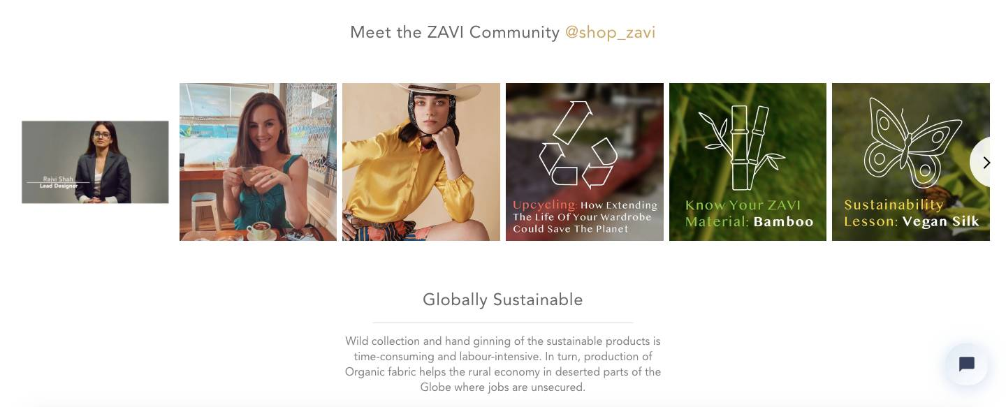online sustainable clothing brand