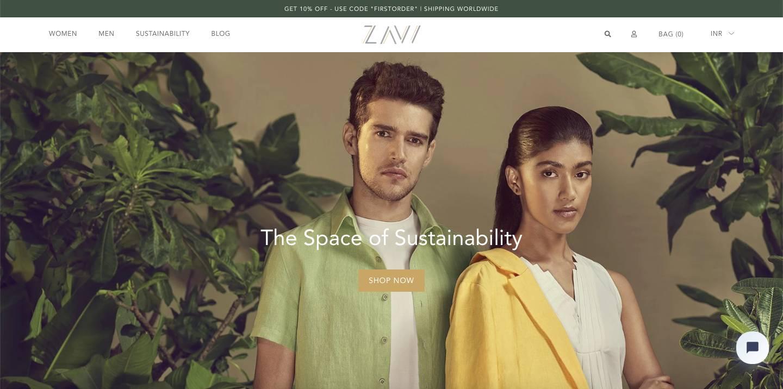 sustainable clothing brand marketing