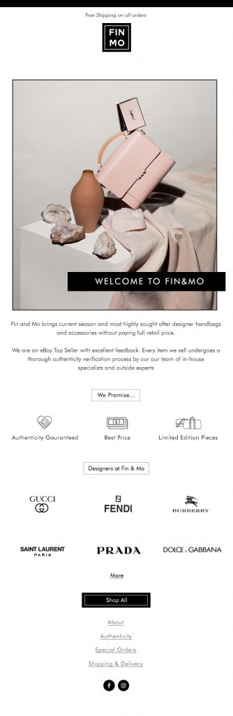 email marketing design template