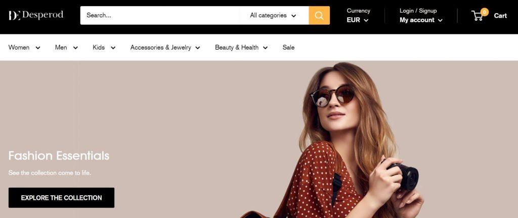 shopify-fashion-website-design